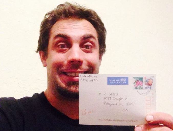 Chuck Postcard